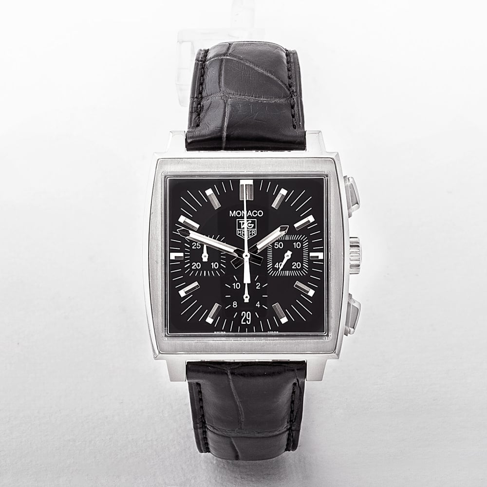 b773f3347 Gents Tag Heuer Monaco Chronograph Automatic Watch with Square ...