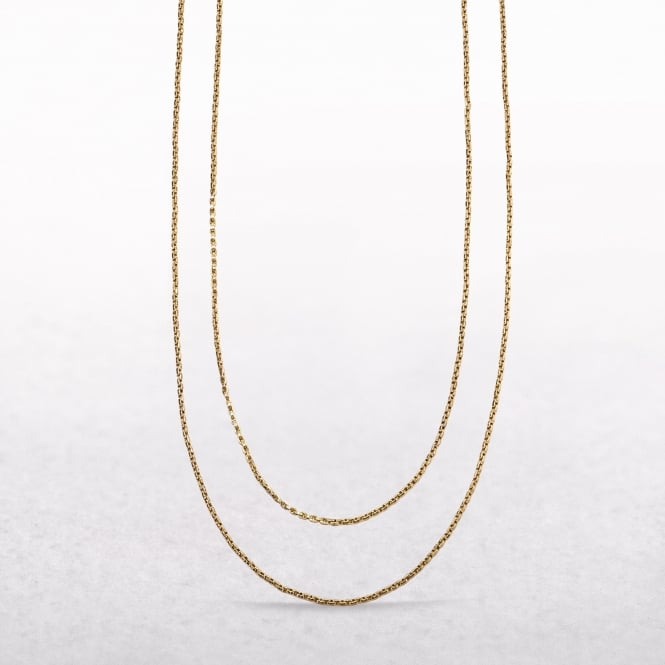Guard Chain Made of 9ct Yellow Gold
