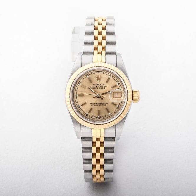 Ladies 1991 Rolex DateJust On A Two Tone Jubilee Bracelet