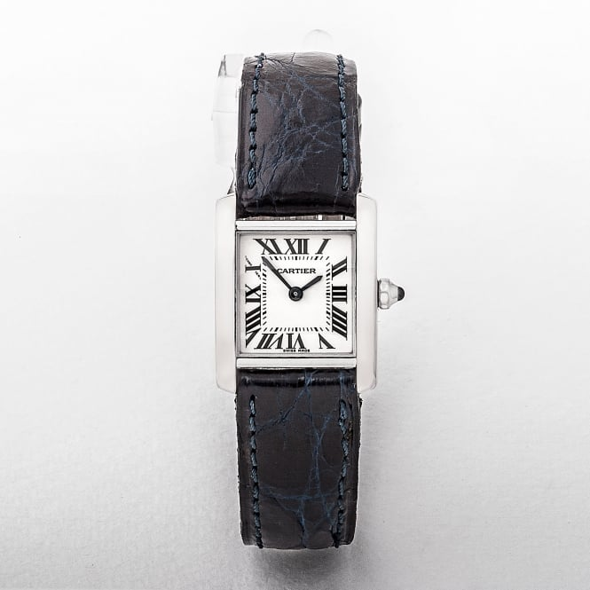 Ladies Cartier Tank Francaise Watch with Square Dial