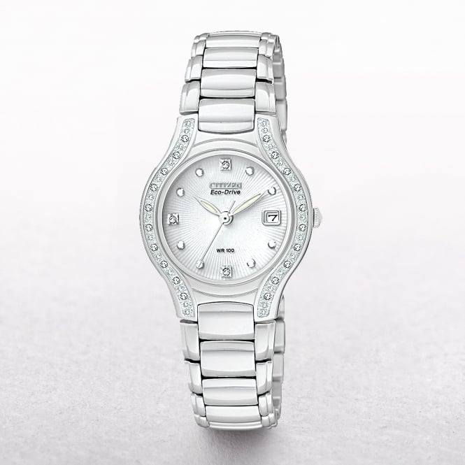 Ladies Citizen Eco-Drive Modena Diamond Watch