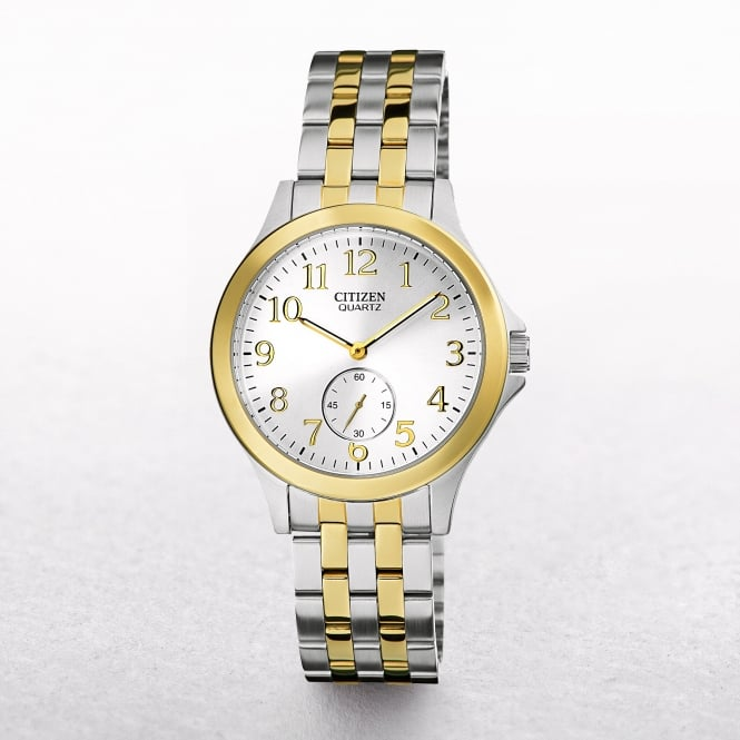 Ladies Citizen Stainless Steel & Gold Tone Sports Watch