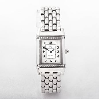 Ladies Jaeger Le Coultre Reverso Watch with Diamond Bezel