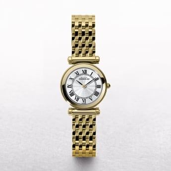 Ladies Michel Herbelin Antares Gold Plated Roman Numeral Dial
