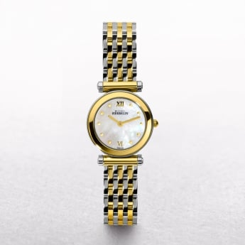 Ladies Michel Herbelin Antares Two Tone Mother of Pearl Dial