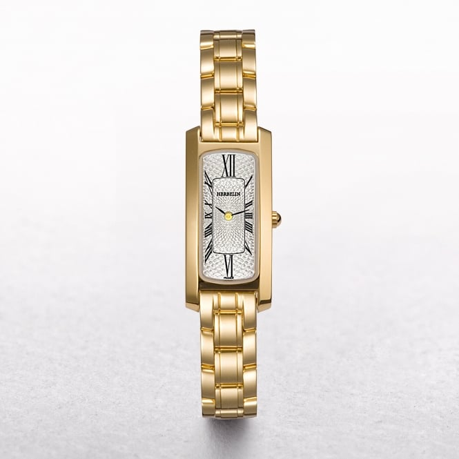 Ladies Michel Herbelin Escapade Gold Plated Roman Numeral Dial