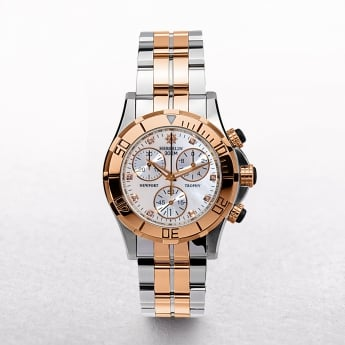 Ladies Michel Herbelin Newport Trophy Grand Sport Two Tone Chronograph