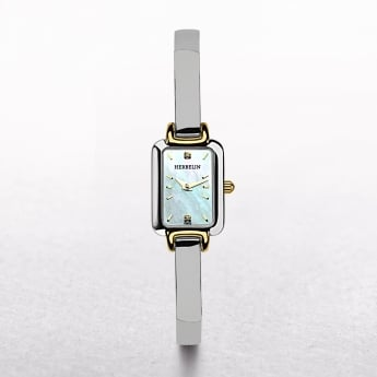 Ladies Michel Herbelin Salambo Two Tone Rectangular Dial