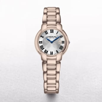 Ladies Raymond Weil Jasmine Rose Gold Plated with Roman Numerals