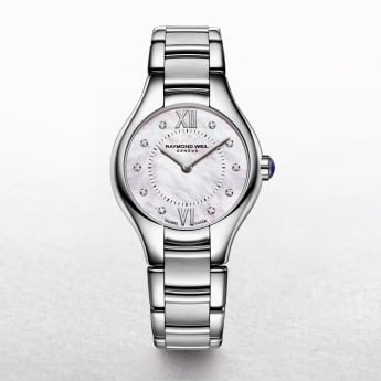 Ladies Raymond Weil Noemia Stainless Steel Diamonds Set Dial