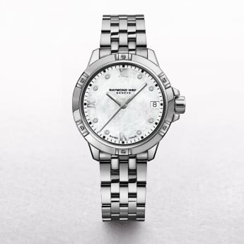 Ladies Raymond Weil Tango Stainless Steel Diamond Hour Markers