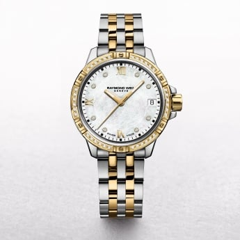 Ladies Raymond Weil Tango Two Tone Diamond Bezel