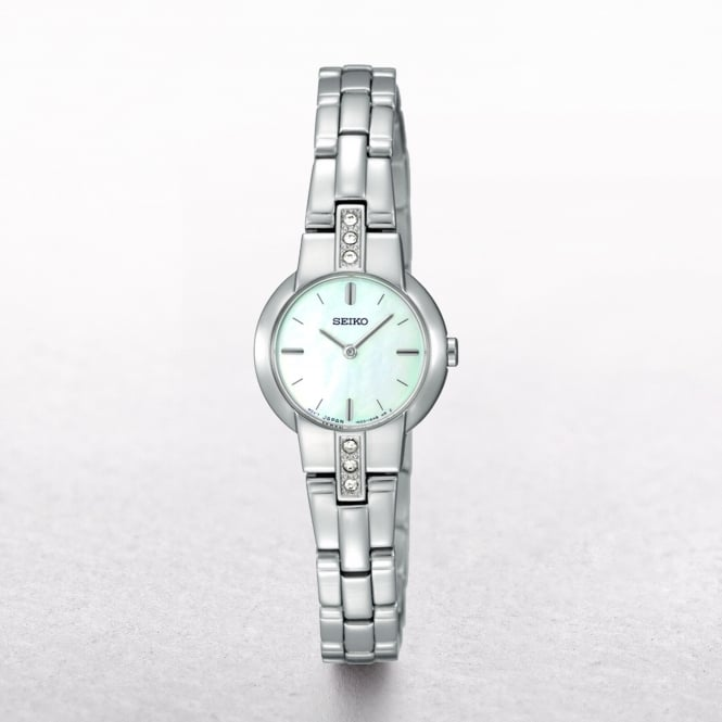 Ladies Seiko Slimline Mother of Pearl Dial