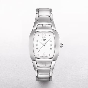 Ladies Tissot Femini Stainless Steel White Dial Watch