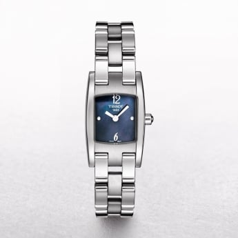 Ladies Tissot Trend T3 Stainless Steel Navy Dial Watch