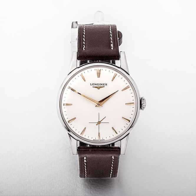 Longines Manual Wind Watch with Subdial, circa 1964