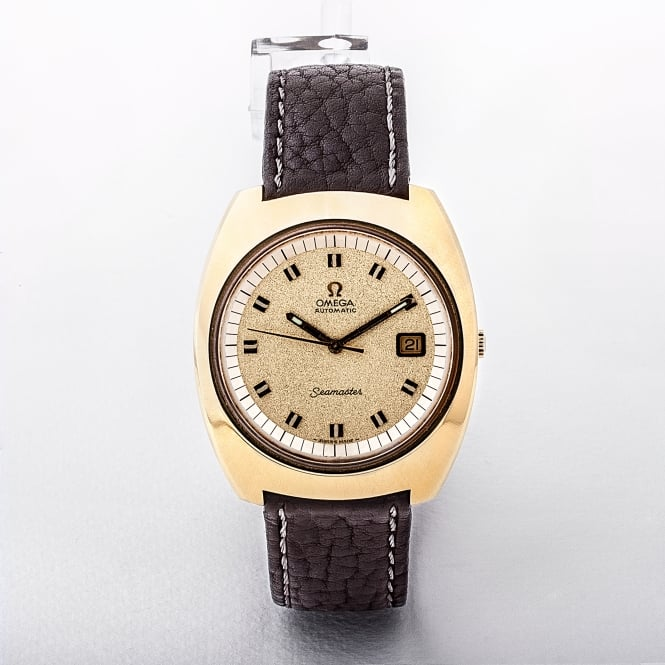 Omega Seamaster Gents Gold Plated Watch 1970 with 1002 Calibre Movement