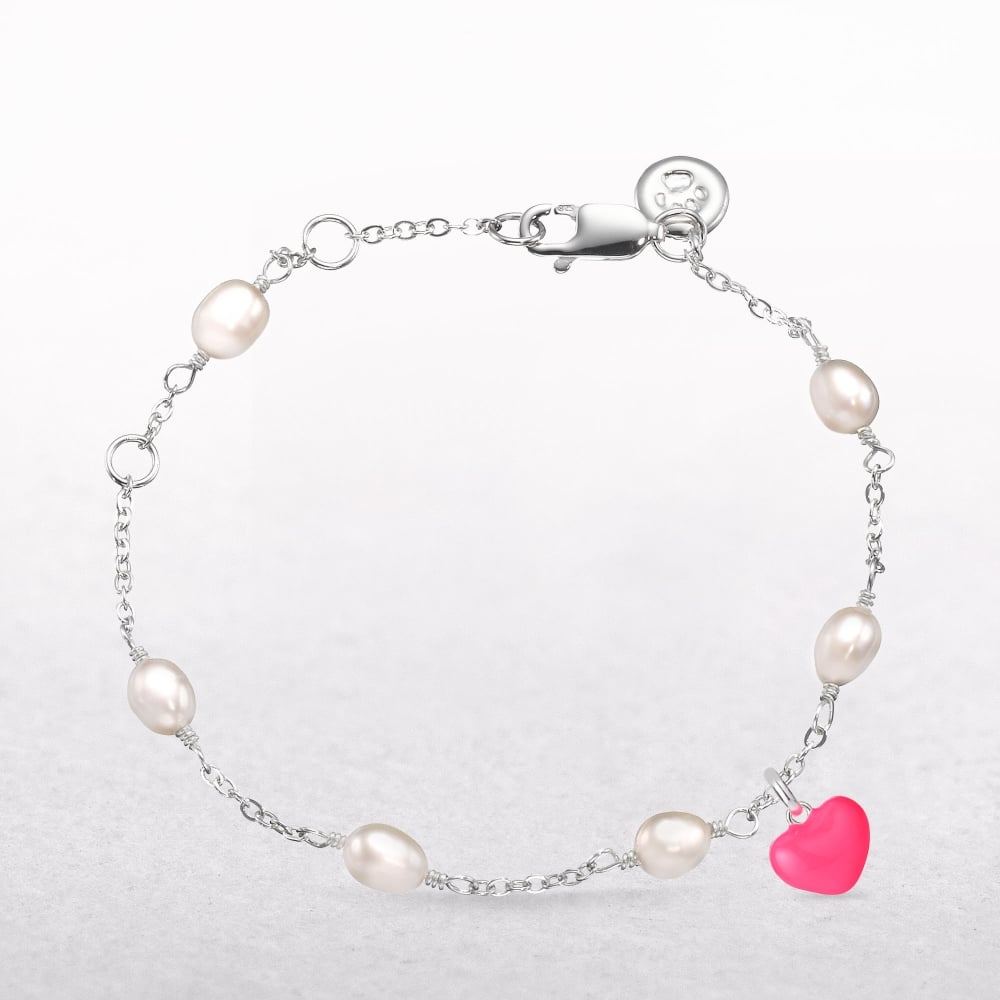 heart with of gold pearl cuore bracelet jewellery bvlgari mother image pink