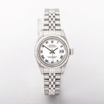 Rolex 2005 Ladies Datejust Steel Watch