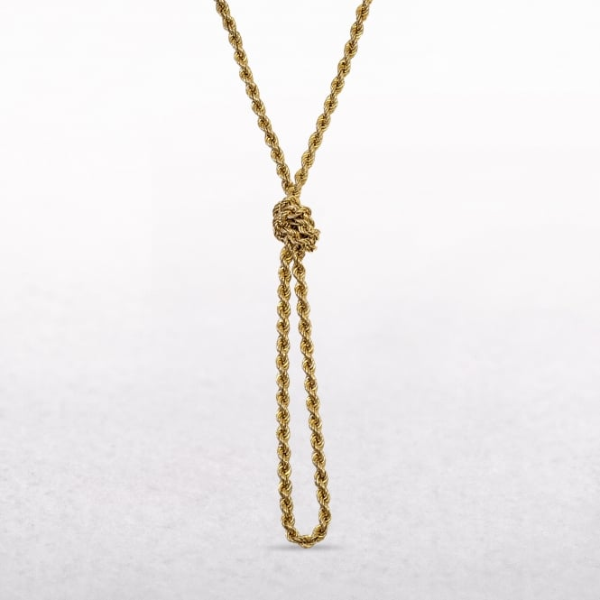 Rope Chain Made of 10ct Yellow Gold