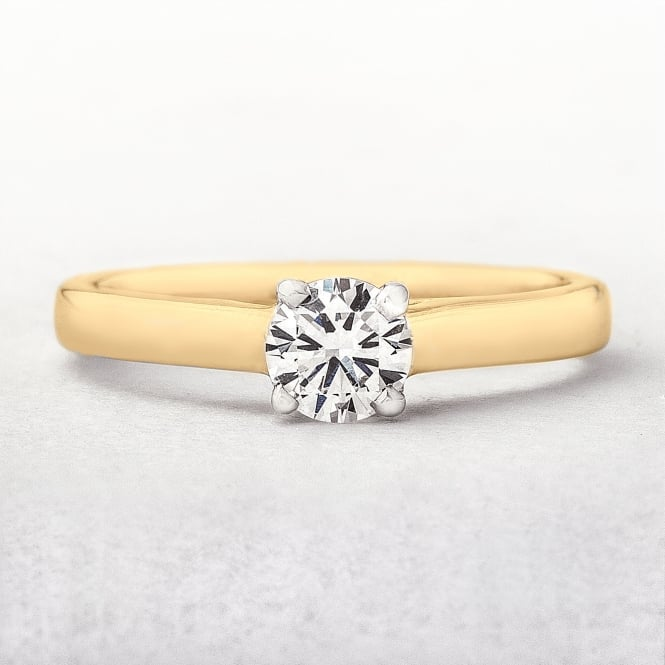 Round Diamond 0.45ct Diamond Ring