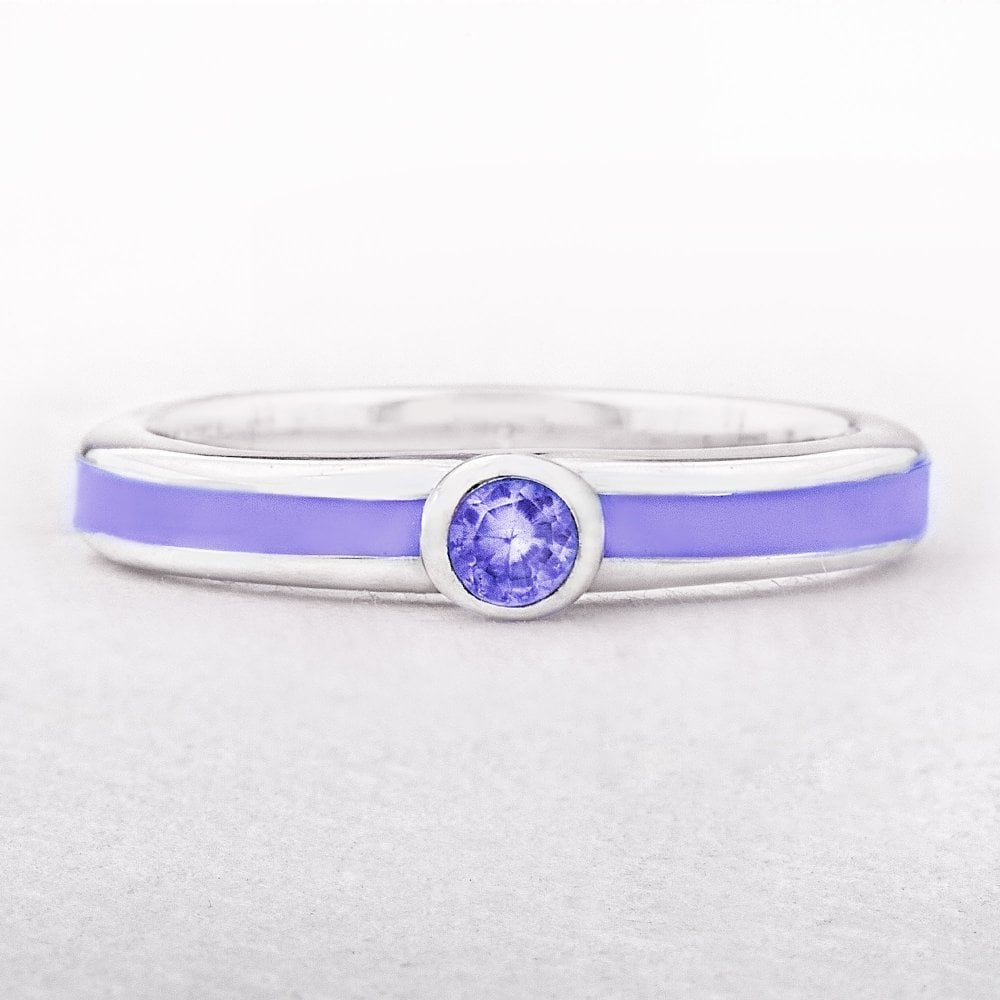 c63a65954 sterling-silver-valdo-zeni-purple-enamel-stacking-ring -with-solitaire-bezel-p2225-5416_image.jpg