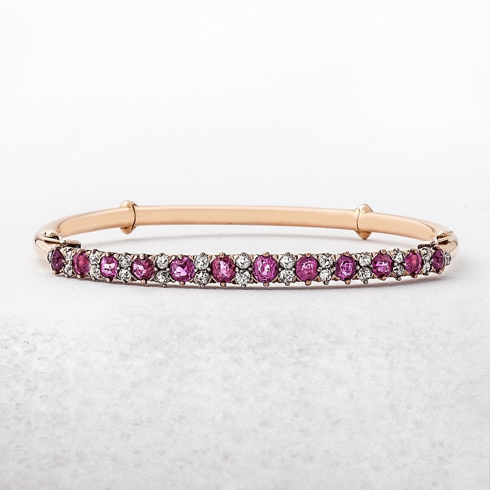 products switzerland stone diamond bangle little flexible bracelet pg