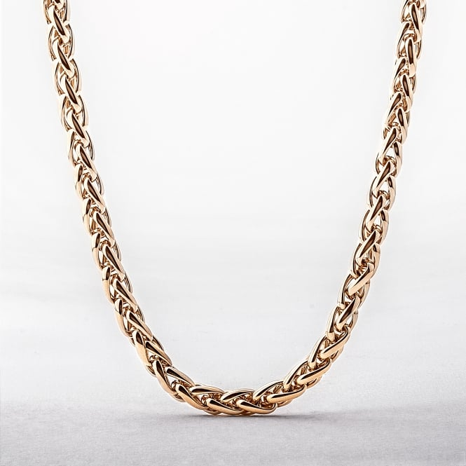 "Yellow Gold 20"" Intertwined Necklace"